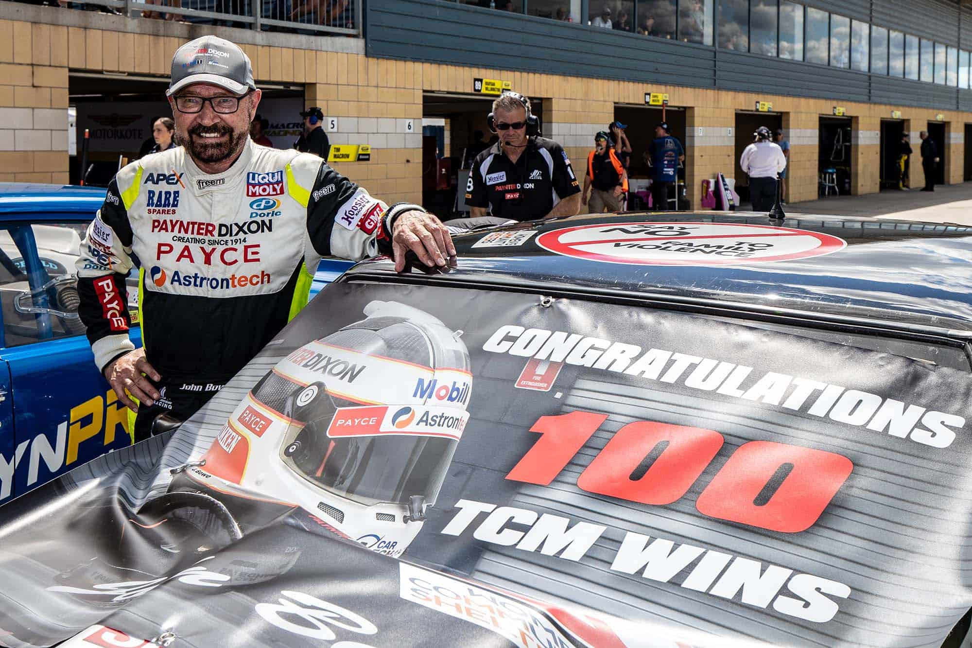 Bowe claims 100th Touring Car Masters race win