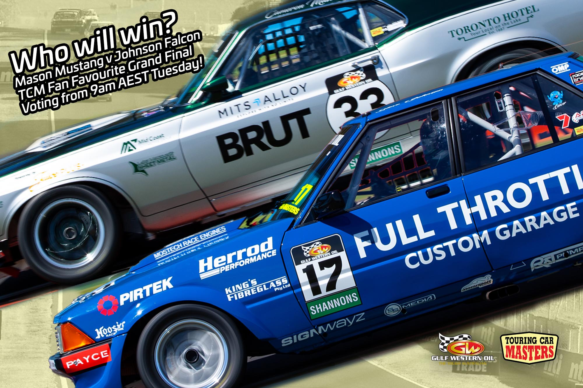 All Ford battle to decide fan-favourite TCM racer